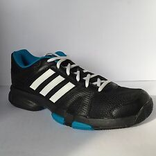 Adidas Barracks F10 Mens Fitness Trainer Black White New £27.99