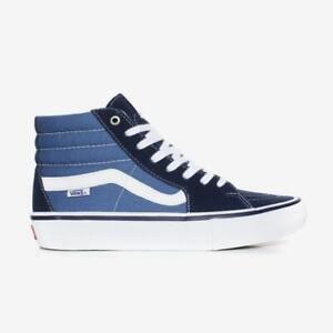 Vans Sk8-Hi Pro Schuhe - unisex High Top Skate Sneaker - navy / white