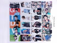 Big Bang Transparent Photo Card (25 Pcs) KPOP Bigbang GD Top Daesung Seungri YG