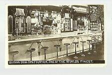 Cedar Rapids IOWA RP c1910 INTERIOR DRUG STORE Soda Fountain ICE CREAM PARLOR