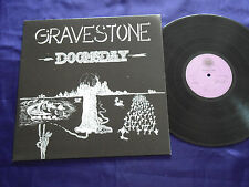 "33T  GRAVESTONE ""DOOMSDAY""  REEDITION 2004  AMBER SOUNDROOM AS LP 026 GERMANY"