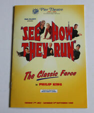 More details for see how they run 1998 theatre programme signed by cast-su pollard-britt ekland