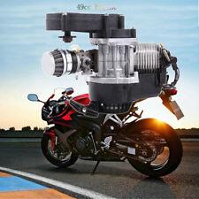 2-Takt 49cc Motor Pullstart + Getriebe Vergaser für Pocket-Bike Mini ATV Scooter