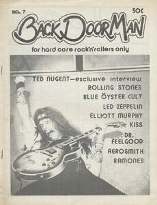Back Door Man issue 07 - June 1976 [USA] - Magazine