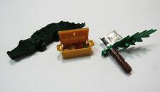 LEGO 6241 Pirates Accessories Treasure Chest w/ Coins Gems Crocodile Pirate Flag