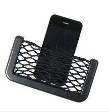 Universal Car Seat Side Back Storage Net Bag Phone Holder Organizer Black