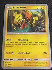 Pokemon TCG : TAPU KOKO SM30 World Championship PROMO Rare