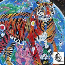 Jiang, Beautiful Tomorrow, Serigraph Canvas  AP65/75 CRP $4050 selling was $1950