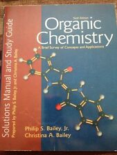 Organic Chemistry : A Brief Survey of Concepts and Applications: Solutions Manua