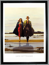 Jack Vettriano 'The Road to Nowhere' framed print high quality