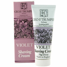 Geo F Trumper  Violet Soft Shaving Cream Travel tube 75g