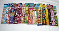 Lot 180 pcs Disney & Cartoon Character Licensed Pencil Wholesale School Supply
