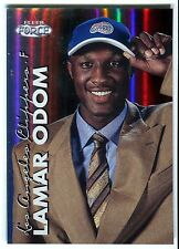 1999-00 Fleer Force LAMAR ODOM Forcefield Rookie Rare SP RC Heat Lakers #/100