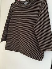 PURE COLLECTION TOP SIZE 16 BLACK/TAN