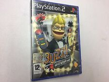 BUZZ! HOLLYWOOD QUIZ   PS2 PLAYSTATION 2 PAL NUOVO SIGILLATO