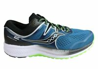 NEW SAUCONY MENS OMNI ISO 2 CUSHIONED COMFORT WIDE WIDTH ATHLETIC SHOES