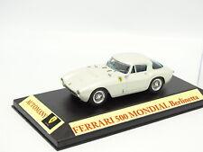 Kit Monté Base Automany 1/43 - Ferrari 500 Mondial Berlinetta Blanche 1954
