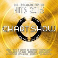 Die Ultimative Chartshow die erfolgreichsten Hits 2016 - 2 CD NEU&OVP Chart Show