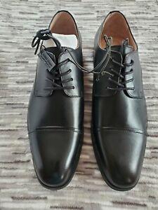 Express Black Oxford Cap Toe Dress Shoe. Size 10. Retail $118