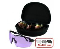 Evolution MATRIX Archery Air Rifle Clay Pigeon Shooting 4 Lens Protect Glasses
