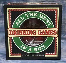 Tutti i migliori giochi di bere in una scatola - 4 BICCHIERI, 2 Dadi & libro delle istruzioni.