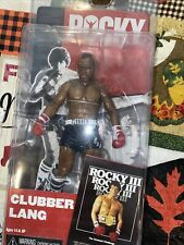 2016 NECA REEL TOYS ROCKY 40TH ANNIVERSARY CLUBBER LANG BLACK TRUNKS