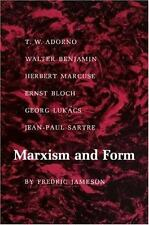 Marxism and Form: 20th-Century Dialectical Theories of Literature (Paperback or