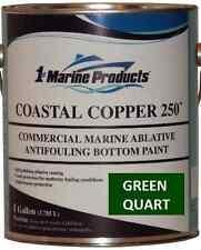 Coastal Copper 250 Ablative Antifouling Bottom Paint Green Quart