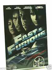 Fast & Furious DVD Región 2 Nuevo Sellado Vin Diesel Paul Walker