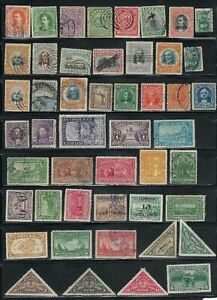 Costa Rica Lot, 1889 to 1998