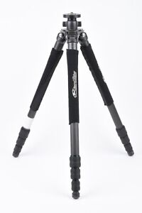 EXC+++ GT2542L MOUNTAINEER 6X CARBON FIBER TRIPOD SUPPORTS 26.4LBS, w/SKINS NICE