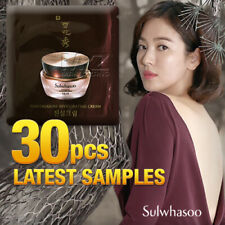 Sulwhasoo Timetreasure Invigorating Cream 30pcs Anti-Aging Latest Samples + Gift