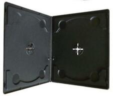 100 x 10mm Half size Double Clear storage cases for CD / DVD / Blu ray discs