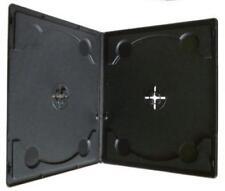 100 x 10mm doppio formato mezzo chiaro CUSTODIE PER CD/DVD/Blu Ray Dischi