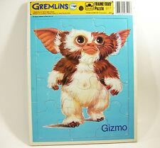Gremlins GIZMO Frame Tray PUZZLE Vintage 1984 Golden Warner Bros 12 Piece USA