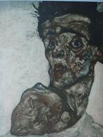 Egon Schiele (1890 - 1918) - unbekannt, Lithografie