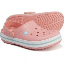 Crocs Women's Sz 11 Crocband Clog Melon Pink 11016 7H5 NWT