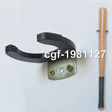 1PC Single ball bat DISPLAY Decorative Holder Vertical Wall Mount Rack