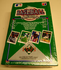 1990 Upper Deck Baseball Card BOX 36 Packs Sammy Sosa Rookie? Factory Sealed