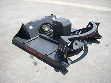 "Bobcat Skid Steer Attachment 60"" Direct Drive Brush Cutter Bush Hog - Free Ship"