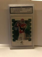 2000 SP AUTHENTIC ROOKIE FUSION#7 SYLVESTER MORRIS GRADED A 10