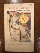 Sales brochure FN Cycles 1899.