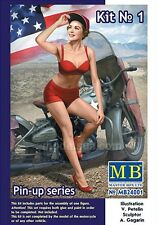 Master Box Pin Up Series US Army Girl Figure MARYLIN Model kit 1/24