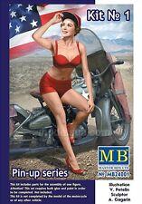 Master Box Pin Up Series US Army Girl Figure MARYLIN Model kit 1/24