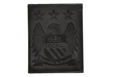 Man City Wallet - Manchester City Embossed Leather Wallet  - Ideal Gift