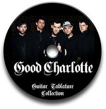 Good Charlotte Pop Punk Rock Guitar Tab Tablature Song Book Cd