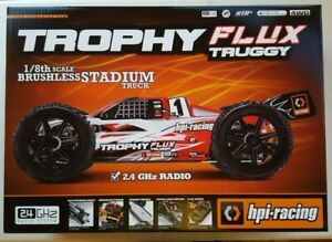 HPI Racing 1/8 Brushless Stadium Truck Trophy Flux Truggy 2.4GHz RTR - #107018