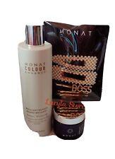 MONAT Hair Mask Characoal Gelee Brillant Blonde Shampoo Hair Clips Set 7Pcs NEW