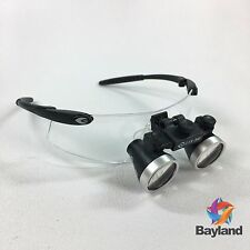 New Seiler 2.5x 340mm Black 250BLKG Dental Medical Surgical Loupes w/Accessories