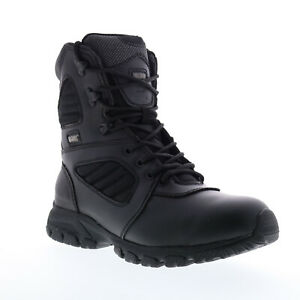 Magnum Response III 8.0 Sz 5207 Mens Black Leather Lace Up Tactical Boots 15